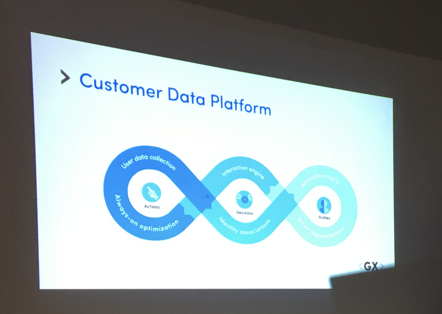 customer data platform BlueConic GX Software