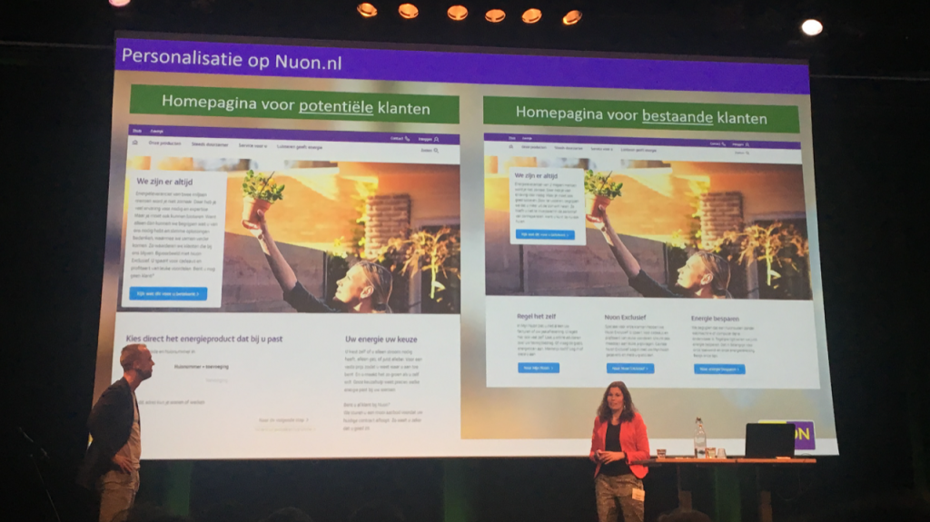 Nuon over Personalisatie op Emerce Conversion