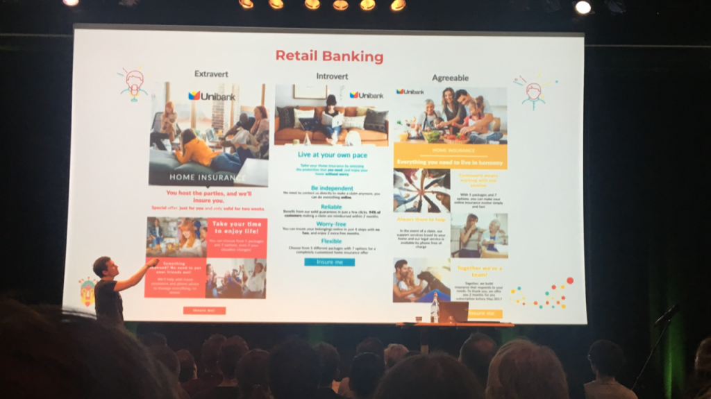David Arnoux van Growth Tribe over Personalisatie op Emerce Conversion